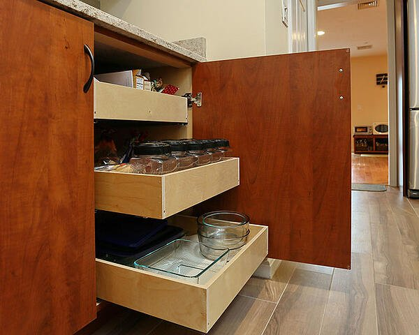 Pull Out Rack Cabinet Storage