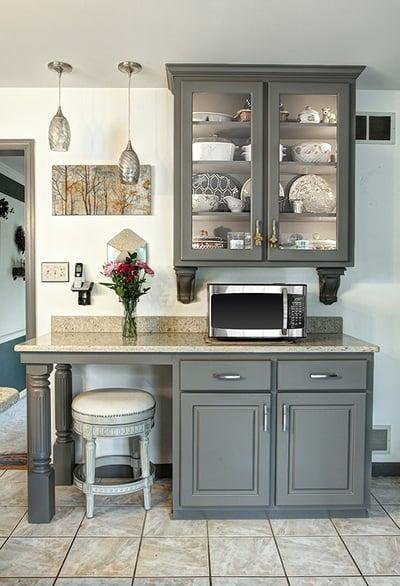 Suede Gray Kitchen