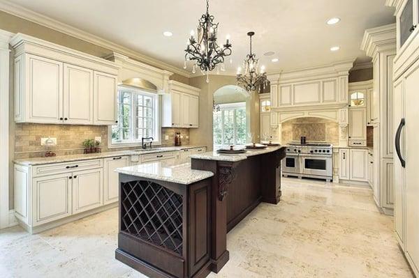 Monochromatic Kitchen