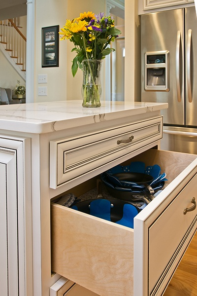 Kitchen Drawer with Liner
