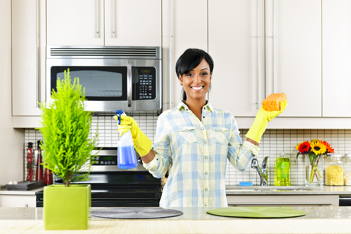 A Clean Kitchen: Antimicrobial Options for Counters and Floors