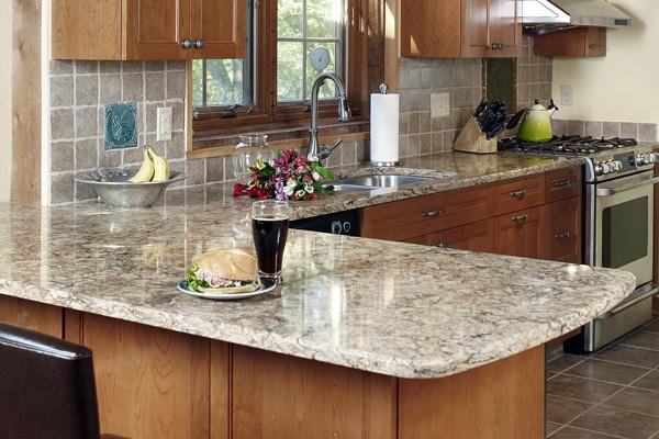 countertop edge styles quartz countertops