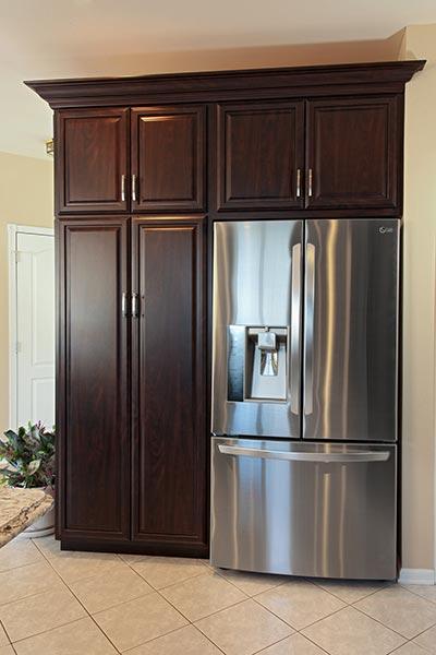 Refrigerator Area Kitchen Storage