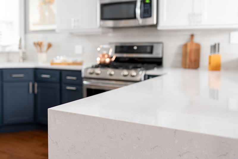 Non-porous Kitchen Countertops