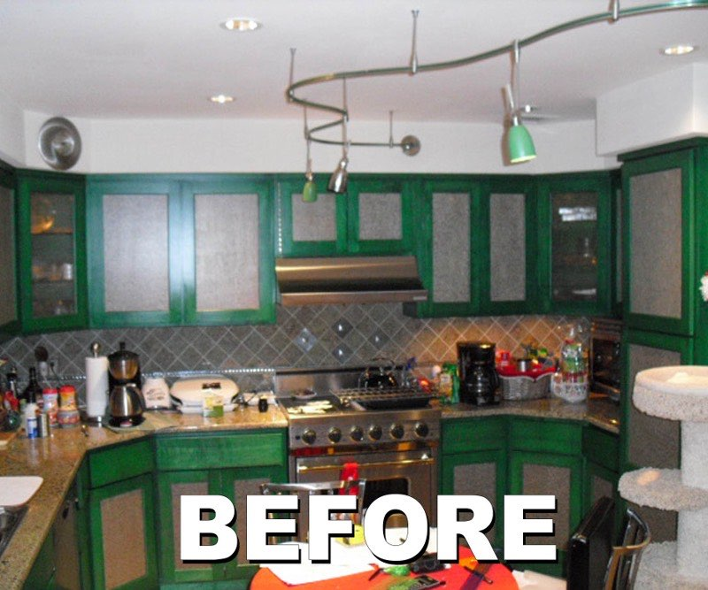 Kitchen Transformation - Before