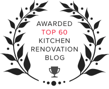 Kitchen Magic Award for top 60 Kitchen Renovation Blog