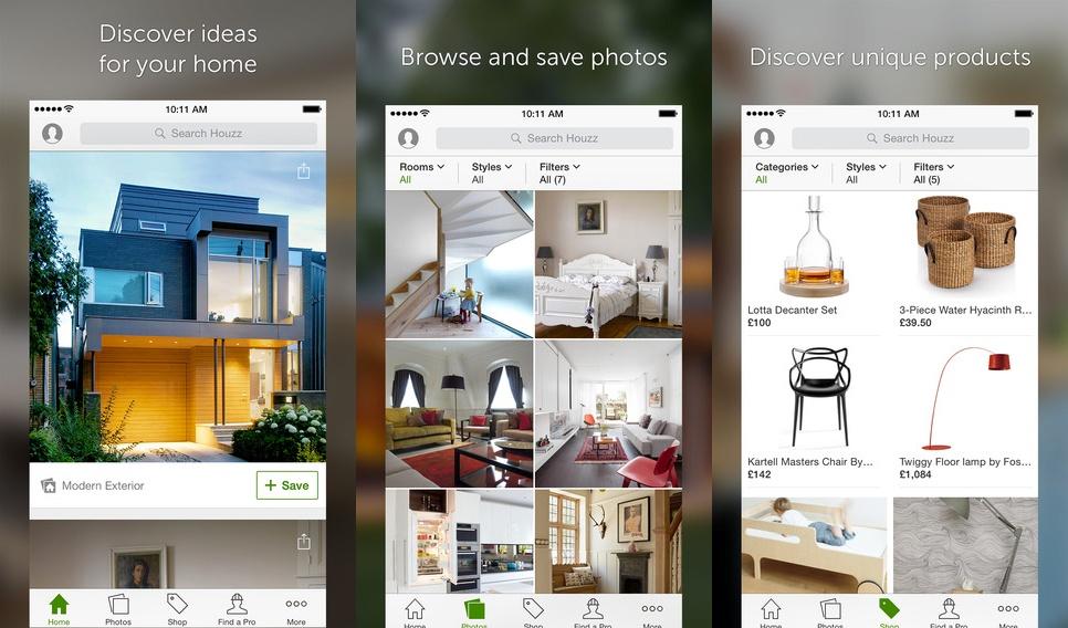 houzz design app - App Design Ideas