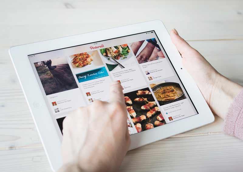 browsing pinterest kitchen remodel ideas